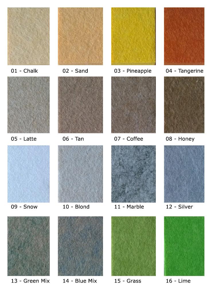 Colour Chart #1